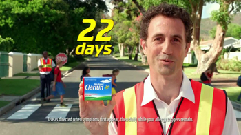 Claritin Clear Challenge TV Spot, '10 Days' - Thumbnail 8