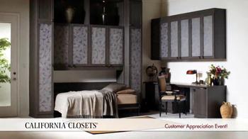 California Closets Customer Appreciation Event TV Spot - Thumbnail 2