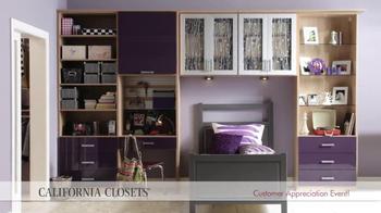 California Closets Customer Appreciation Event TV Spot - Thumbnail 6