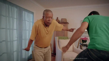 Kohler Generators TV Spot, 'Dancing Family'