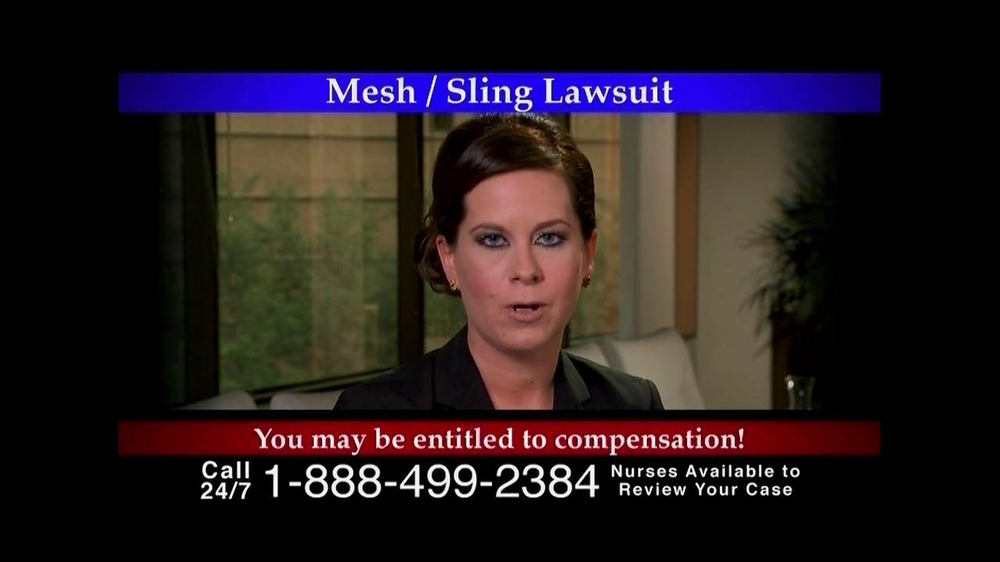 Pulaski Law Firm >> Lee Murphy Law TV Commercial, 'Mesh/Sling Lawsuit' - iSpot.tv