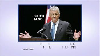 American Future Fund TV Spot, 'Chuck Hagel' - Thumbnail 2