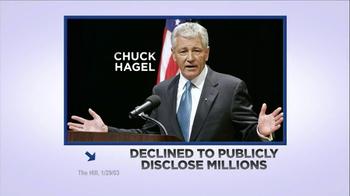 American Future Fund TV Spot, 'Chuck Hagel' - Thumbnail 3