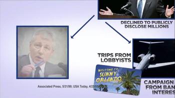 American Future Fund TV Spot, 'Chuck Hagel' - Thumbnail 5