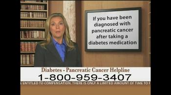 Weitz and Luxenberg TV Spot, 'Diabetes, Pancreatic Cancer' - Thumbnail 6