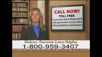 Weitz and Luxenberg TV Spot, 'Diabetes, Pancreatic Cancer' - Thumbnail 9