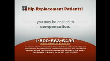 Sokolove Law TV Spot, 'Hip Replacement' - Thumbnail 2