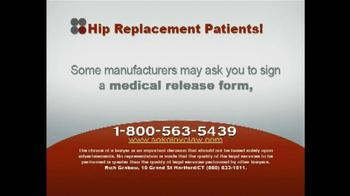 Sokolove Law TV Spot, 'Hip Replacement' - Thumbnail 3