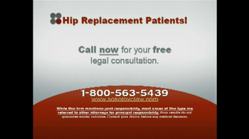 Sokolove Law TV Spot, 'Hip Replacement' - Thumbnail 5