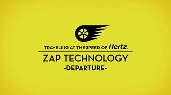 Hertz eReturn TV Spot, 'Zap Technology: Departure' Featuring Owen Wilson - Thumbnail 2