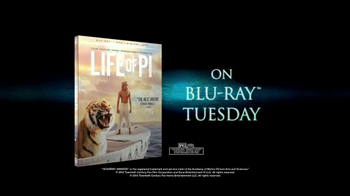 Life of Pi Blu-ray and DVD TV Spot, Song by Coldplay