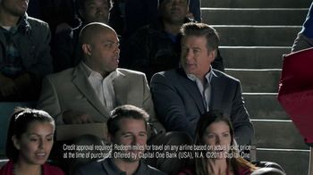 Capital One TV Spot, 'For Later' Feat. Alec Baldwin, Charles Barkley - Thumbnail 6