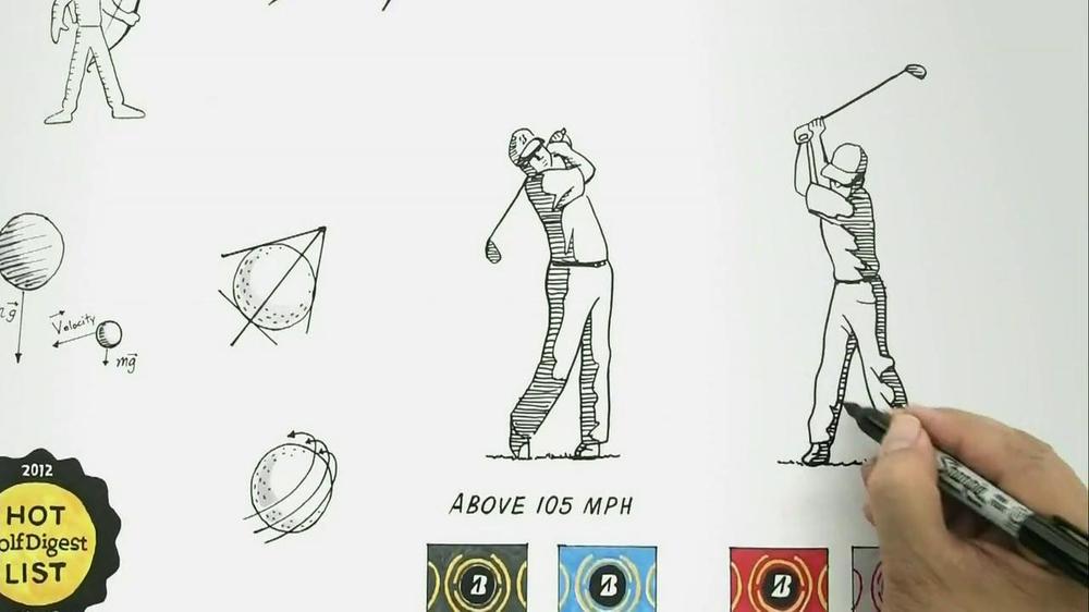 Bridgestone B330 TV Commercial, 'Archer or Arrow' Featuring David Feherty