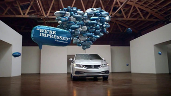 2013 Honda Civic TV Spot, 'Balloons' Song by Blondfire - Thumbnail 9