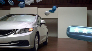 2013 Honda Civic TV Spot, 'Balloons' Song by Blondfire - Thumbnail 8