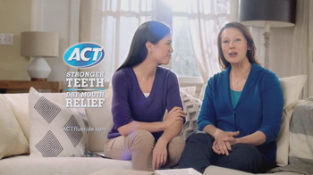ACT Fluoride Total Care Dry Mouth TV Spot, 'Dentist Sister'