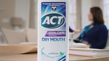 ACT Fluoride Total Care Dry Mouth TV Spot, 'Dentist Sister' - Thumbnail 3