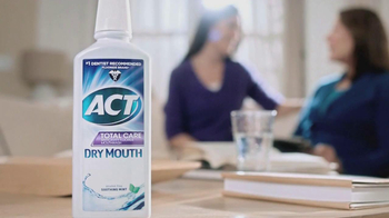 ACT Fluoride Total Care Dry Mouth TV Spot, 'Dentist Sister' - Thumbnail 7