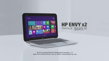 HP Envy x2 TV Spot, 'The Magic of Touch' Featuring Dan White - Thumbnail 9