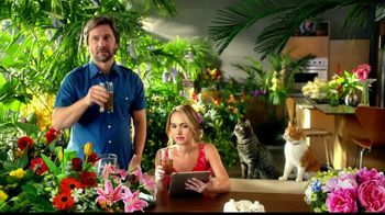 Tidy Cats Pure Nature Litter TV Spot, 'Flowers' - 400 commercial airings