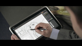 Intel Ultrabook and Dell TV Spot, 'Train: Different World Drawings' - Thumbnail 4