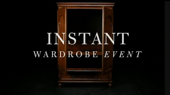 JoS. A. Bank Instant Wardrobe Event TV Spot  - 22 commercial airings