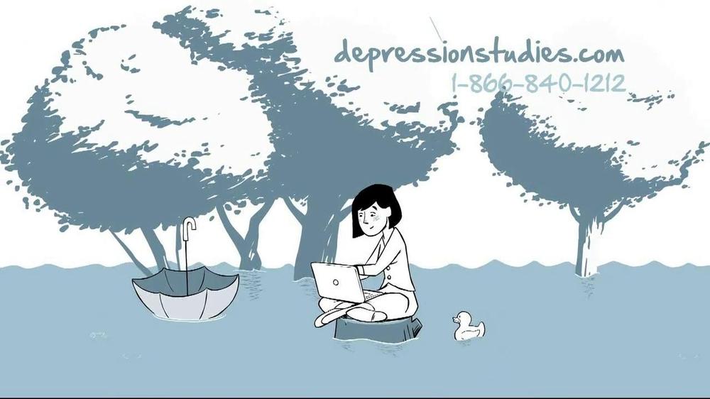 Depression Outreach Study TV Commercial