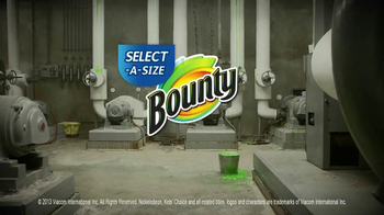 Bounty Select-A-Size TV Spot, 'Kids' Choice Cleanup Crew' - Thumbnail 10