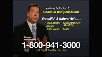 Goldwater Law Firm TV Spot, 'Kidney Dialysis: GranuFlo and Naturalyte'