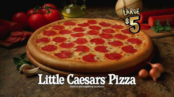 Little Caesars Pizza TV Spot, 'Basketball Party'  - Thumbnail 8