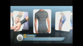 Tommie Copper Compression Sleeves TV Spot, 'Golf' Featuring John McPhee - Thumbnail 10