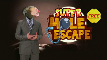 Super Mole Escape TV Spot, 'Mole Crime' - Thumbnail 4
