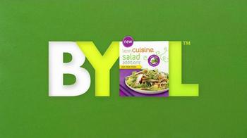 Lean Cuisine Salad Editions TV Spot, 'BYOL'  - Thumbnail 9