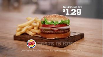 Burger King Whooper Jr. TV Spot, '1.29' - Thumbnail 9