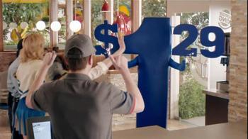 Burger King Whooper Jr. TV Spot, '1.29' - Thumbnail 8