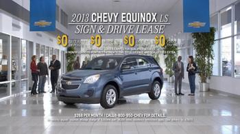 2013 Chevrolet Equinox LS TV Spot, 'Ice Pack' - Thumbnail 10