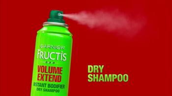 Garnier Fructis Volume Extend TV Spot, 'Fast' - Thumbnail 2