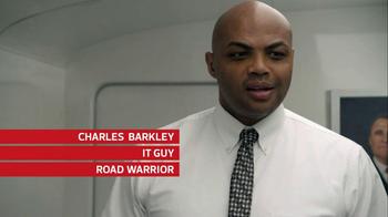 CDW TV Spot, 'Server Room Shower' Featuring Charles Barkley - Thumbnail 4