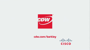 CDW TV Spot, 'Sounds of the Server Room' Featuring Charles Barkley - Thumbnail 10