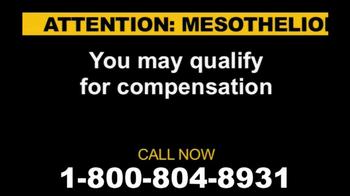 Kyros Law Group, LLC TV Spot \'Asbestos\'