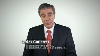 Hispanic Leadership Network TV Spot Featuring Carlos Gutierrez - Thumbnail 1