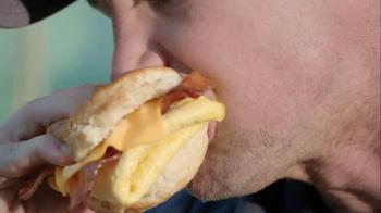 Hardee's Pork Chop 'N' Gravy Biscuit TV Spot - Thumbnail 7