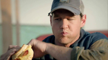 Hardee's Pork Chop 'N' Gravy Biscuit TV Spot - Thumbnail 8