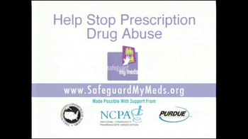 Purdue Pharma TV Spot, 'Prescription Drug Abuse' - Thumbnail 8