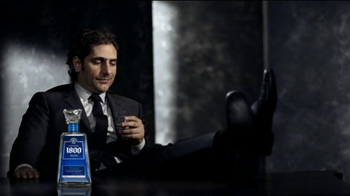 1800 Tequila Silver TV Spot, 'Kick Back' Featuring Michael Imperioli