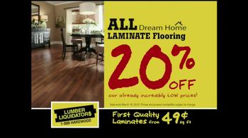 Lumber Liquidators Laminate Flooring Sale TV Spot, 'Lower Prices'  - Thumbnail 3