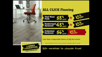 Lumber Liquidators Laminate Flooring Sale TV Spot, 'Lower Prices'  - Thumbnail 5