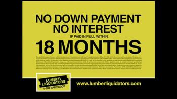 Lumber Liquidators Laminate Flooring Sale TV Spot, 'Lower Prices'  - Thumbnail 6