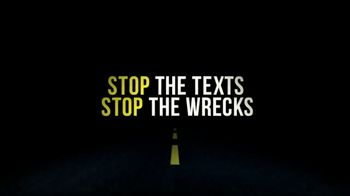 Stop the Texts, Stop the Wrecks TV Spot, 'Texting and Walking' - Thumbnail 9