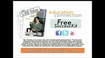 Education Connection TV Spot, 'Chair'  Shannen Doherty